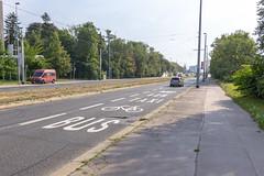 Bicycle lane?? (RunningRalph) Tags: czechrepublic prague praha road praag hlavníměstopraha tsjechië cz