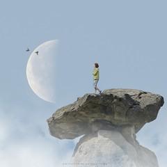 Emotions... (emilioramos59) Tags: photomanipulation moon surreal digitalart