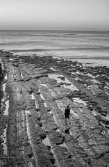 Travel near of the beach (Isai Hernandez) Tags: places beach travel traveling people blackandwhite blancoynegro directions horizont water photography photographer naturephotography