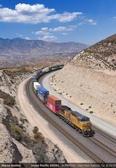 Fresh Helper... (Marco Stellini) Tags: usa union pacific up sp southern california san bernardino cajon pass summit ac44cw ac4400 general electric