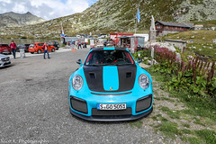 GT2 RS Weissach Package (Nico K. Photography) Tags: porsche 991 gt2 rs weissach package babyblue rare supercars nicokphotography switzerland gotthardpass