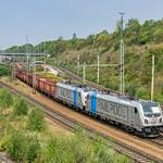 187 300-9 + 187 308-2 Railpool München Nord Rbf 29.08.18 thumbnail