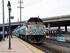 Must be Track 3 (GRNDMND) Tags: trains railroads coaster sandiegonorthern nctd locomotive emd f40ph2c commuter oldtown sandiego california