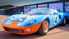 4 .. 40 (Jez22) Tags: ford gt 40 original sports car automobile beautiful blue orange colour color no4 gulfcolours gt40 voiture endurance racing supercar hypercar sportscar grandtouring photo copyright jeremysage