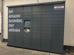 Amazon Locker in Köln-Ehrenfeld (marcoverch) Tags: köln nordrheinwestfalen deutschland de noperson keineperson door durch architecture diearchitektur outdoors drausen security sicherheit business geschäft offense delikt indoors drinnen wall mauer soccer fusball house haus stock street strase wood holz shut geschlossen industry industrie window fenster absence abwesenheit entrance eingang city stadt pentax ontario flight sigma 50mm downtown boeing mar fuji nyc