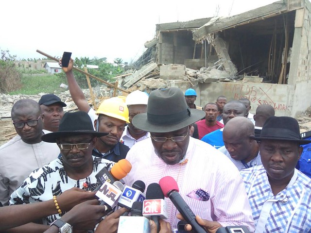 HSDickson - Operation Recovering of all Govt. Properties & Lands in Bayelsa State. 01 March 2018