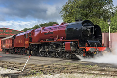 Brilliance (4486Merlin) Tags: duchessofsutherland semi 6233 england europe exlms heritagerailways lms8pduchess midlandrailwaycentre midlands railways steam transport unitedkingdom swanwick derbyshire gbr