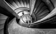 Castle Stairway, Germany (CvK Photography) Tags: bw canon castle cvk europe germany stairs summer harz wernigerode kasteel schloss monochrome monochroom best blackandwhite blackwhite trappenhuis