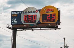 Powerball and Mega Millions Lottery Billboard in Missouri (Tony Webster) Tags: ddimedia lagrange megamillions missouri missourilottery powerball billboard lottery million prize prizes unitedstates us