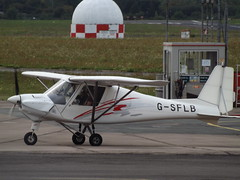 G-SFLB Ikarus C42 (Solent Flight Ltd) (Aircaft @ Gloucestershire Airport By James) Tags: gloucestershire airport gsflb ikarus c42 solent flight ltd egbj james lloyds