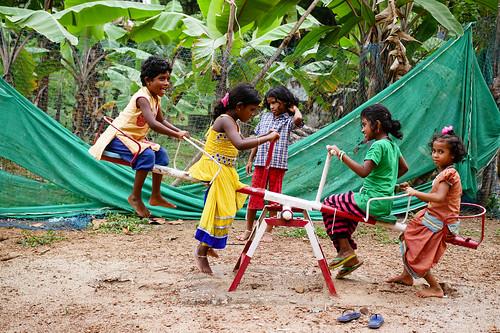 Play time. Kerala, India, 2018
