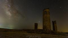 Castillo de Galvez (www.jorgelazaro.es) Tags: castillo ruina nocturna paisaje milkyway galvez estrellas milky víaláctea noche gálvez castillalamancha españa es