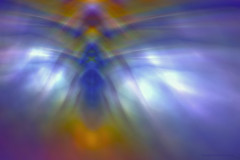 Angel reflection (CaBAsk ♥Thank U for visiting ♥) Tags: lumia art abstract digital manipulation expression photoshop fantasy imagination surreal reflections angel wings rainbow light pastels robe bell