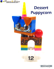 12) Dessert Puppycorn (WhiteFang (Eurobricks)) Tags: lego bind bags unikitty series 1 brick built animals kitty puppy box colourful vibrant sunshine cheerful fun pink
