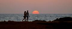 Cyprus (Dimitris Georgitzikis) Tags: sunset sea seaside people ngc