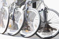 8021T Quad Bikes (foxxyg2) Tags: bicycle cycle cycles cycling sport fitness exercise naxos cyclades greece greekislands islandhopping islandlife art topaz topazsoftware topazstudio