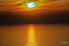 Sunset #1 (Simone_Callegari) Tags: sunset sun sunsets sea seascape mare mar marligure liguria lights ligure light waves wave boat ship sail sole horizon sky skyline stack multiple exposure nikon d7000 d7k 70300 vr 70300mm nikkor summer 2018 estate semptember settembre