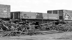 22/07/1963 - Doncaster, South Yorkshire. (53A Models) Tags: britishrailways lms 13t 3plank openwagon dm473815 departmental goodswagon freightcar doncaster southyorkshire train railway locomotive railroad