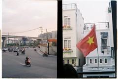 000042 (jovenjames) Tags: 2017 diptych olympus pen eed fujicolor 100 analog saigon vietnam hcmc broken camera snapshots