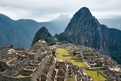 Machu Picchu, Peru (szeke) Tags: machupicchu mountain landscape landmark stones ruins sky clouds