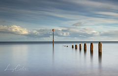 Stillness (Explore) (Coless66) Tags: beautiful scenic teignmouth teignmouthpier clouds sea seascape seaside pier pomanade blue longexposure canon7d 1020mm 10stop peacful mind stillness tranquility southdevon devon westcountry skies memories calm time moments days lovelife love friends daysout manfrotto coast location groynes tidal ndfilter