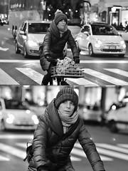 [La Mia Città][Pedala] (Urca) Tags: milano italia 2017 bicicletta pedalare ciclista ritrattostradale portrait dittico bike bicycle nikondigitale scéta biancoenero blackandwhite bn bw 111950