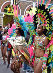 DSC_8318a (photographer695) Tags: notting hill caribbean carnival london exotic colourful costume girls dancing showgirl performers aug 27 2018 stunning ladies
