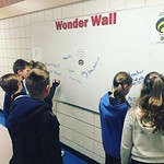 Sharing at the Wonder Wall. 'We are THREE WEEKS IN! What's been the best thing about the start of school?' #hsdlearns thumbnail