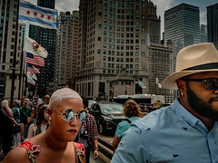 People of Chicago in summer 18 2nd walk (72).jpg (Ralphs Images) Tags: streetphotography moods mft menschen olympuszuikolenses ralph´simages stimmungen panasoniclumixg9