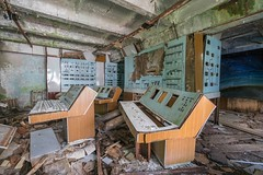 Let's play a game (picturenarrative) Tags: chernobyl soviet ukraine coldwar ecology military nuclear ruins