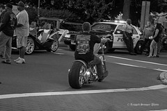 2018 Middletown Motorcycle Mania (ragged.scooper) Tags: connecticut middletownmotorcyclemania motorcycleevent motorcyclerally bikes bikers people city blackwhite bw