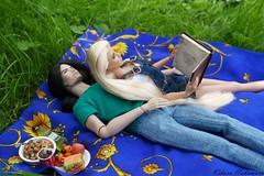Honeymoon. Picnic. (kiharunakamura) Tags: dolls dolllove loveofdolls fashiondolls integritytoysdoll eve keanu