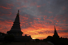 Doi Inthanon National Park (rousselfineartphoto) Tags: doiinthanonnationalpark chiangmaiprovince thailand tha news editorial travel voyage thailande doiinthanon photography photographie montreal canada agence quebec presse roussel pierre province chiangmai city december 2016 after king death tribute nationalpark sunrise