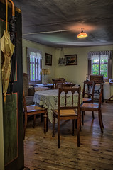 a beautiful old dining room (Peters HDR hobby pictures) Tags: petershdrstudio hdr diningroom vintage old chair table altesesszimmer antik antic tisch stühle ausblick fenster windows