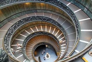 Bramante Staircase, Vatican Museums - Vatican City