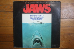 Jaws Record ( MCA 1975 ) (Donald Deveau) Tags: soundtrack record movie jaws album lp vinyl