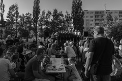 Day firefighters - celebration (Ranildum) Tags: celebration blackwhitte monochrome music food beer dúbravka bratislava canon 77d eos77d canoneos77d tamron people