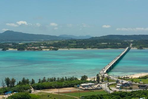 View of the road into Kouri Island
