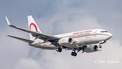 CN-RNV    Boeing 737-700 - Royal Air Maroc (Peter Beljaards) Tags: ams eham schiphol amsterdam final landing nikon70300mmf4556 nikond5500 nikon aviationphotography airplane royalairmaroc ram cnrnv boeing737700 737 boeing737 aircraft passengerjet airliner jetplane cfm567 msn28988