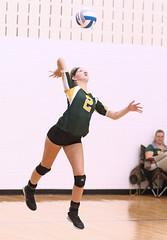 IMG_1469 (SJH Foto) Tags: girls high school volleyball teens team wyalusing varsity serve burst mode