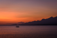 happiness | bali barat, bali (kleptografy) Tags: asia bali balibarat indonesia nusabaymenjangan boat lagoon loneliness morning mountain romance sea sunrise tranquility transportation travel water gilimanuk totalphoto