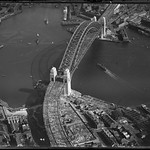 Opening of the Sydney Harbour Bridge, from the northern side, 1932, Milton Kent thumbnail