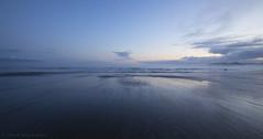 Shi Shi Beach Sunrise #1 (Steve Kody) Tags: sand waves dawn sunrise surf shishi shishibeach shyshy nationalpark olympicnationalpark camping mist fog beachcamping pacificnorthwest pnw makah makahreservation makahindianreservation ef1635mm ef1635mmf4l canon 5d steve kody stevekody wideangle ultrawide pacific pacificocean ocean