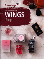 Wings shop April-Sept. 2018, Eurowings (World Travel Library - The Collection) Tags: eurowings wingsshop 2018 shopping frontcover aviation library center worldtravellib papers prospekt catalogue katalog fluggesellschaften compagnie aérienne compagnia aerea légitársaság شركةطيران 航空会社 flug airtransport transport holidays tourism trip vacation photos photo photography pictures images collectibles collectors collection sammlung recueil collezione assortimento colección ads online gallery galeria documents dokument broschyr esite catálogo folheto folleto брошюра broşür