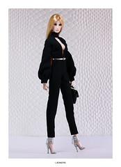Elyse (L.Royalty55) Tags: fashionroyalty fr fr2 fr3 elisejolie elyse lavieenbleu exclusive convention supermodelconvention shantommo fashion ldolls reroot doll integritytoys it