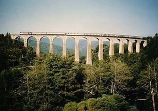 Viaduc de Chamborigaud (Gard, France)