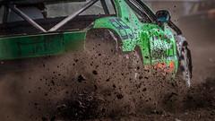 Green Attack (Roger Armutat) Tags: auto rennen race stoppelfeldrennen stoppelfeldrennenwannhöden2018 norddeutschland germany sony motorsport cuxhaven kuske vetter autohauskarlvetter
