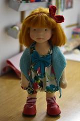"Gracie 18"" waldorf doll (Dearlittledoll) Tags: waldorf waldorfboy waldorfdoll18inch dearlittledoll dollclothing dollmaker handmadedoll naturalfiberdoll naturaltoys naturaldoll kinderpuppe"