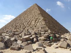Pyramid of Menkaure, Giza (Aidan McRae Thomson) Tags: giza pyramid egypt ancient egyptian architecture