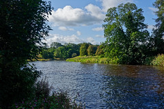 Back to Normal (scottprice16) Tags: england lancashire ribblevalley riverribble summer autumn 2018 august outdoors walk leisure trees river water flowing rain sonyrx100mkiii